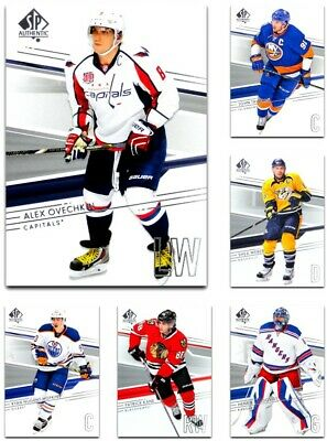 2014-15 SP Authentic **** PICK YOUR CARD **** From The Base SET