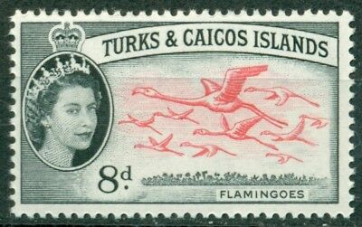 Turks & Caicos Islands Scott #129 MNH Birds Flamingos Fauna CV$3+