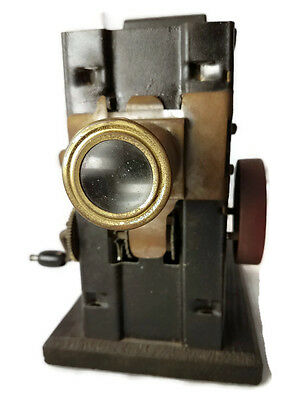 Antique National Moving Picture Machine Silent Movie Projector Cummings Model 10