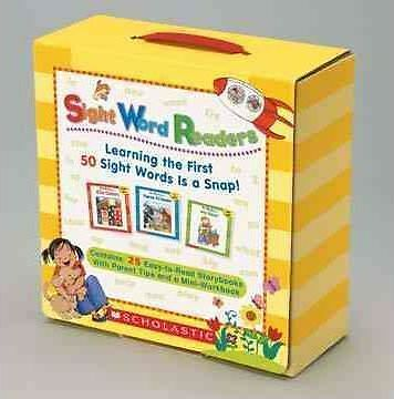 NEW Sight Word Readers Boxed Set: Learn First 50 Sight Words Scholastic