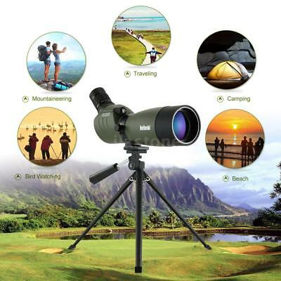20-60x60mm Angled Zoom Spotting Scope Waterproof with Tripod + Carry Bag US A7L9