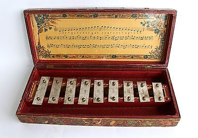 Old Chime, Metallophone, Xylophone Children's Toy Musik 1920er Years