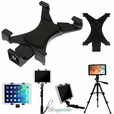 "Universal Tablet Tripod Mount Clamp Holder Bracket Clip Adapter for 7""~10.1""iPad"