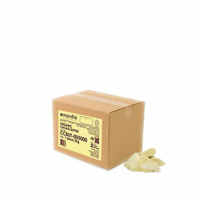Cacao Butter Raw Organic - 500g - EA