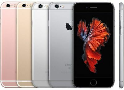 APPLE IPHONE 6S  FACTORY UNLOCKED Rose Gold Gray Silver Gold 4G LTE Phone