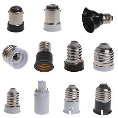 E14 E27 E27 G24 to B22 E12 Socket Base LED CFL Lamp Light Bulb Adapter Converter