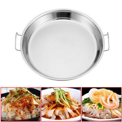 Home Kitchen Tool Stainless Steel Steamer Pan Steaming Dough Plate NEW