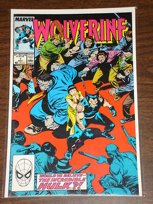 Wolverine #7 Vol1 Marvel Comics X-Men Hulk Apps May 1989
