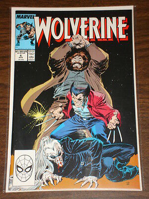 Wolverine #6 Vol1 Marvel Comics X-Men April 1989