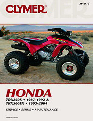 honda trx 400ex 300ex 450r 450er repair service owners manual m2318 rh picclick com 400ex service manual free download honda 400ex owners manual