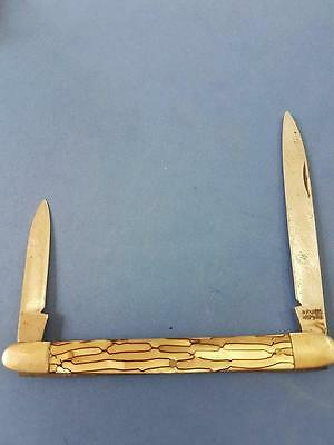 Vintage Old Pocket Knife Mother of Pearl