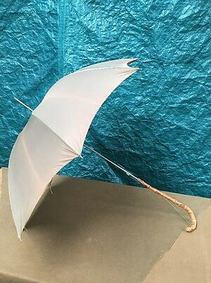 ST MICHAEL RETRO Parasol Umbrella With Bamboo Handle