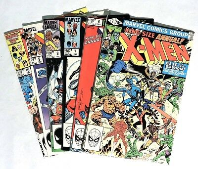 ESZ1730. LOT of 15 X-MEN ANNUAL #5-13 #15-18, '95 & '96 Marvel 7.0 FN/VF 1980s ]