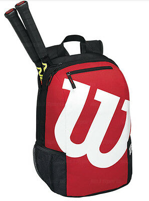 Wilson Match II Tennis Backpack Black and Red Color Authentic racquet racket Bag