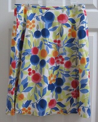 NWT Talbots size 10 A Line Cotton Skirt with Lining