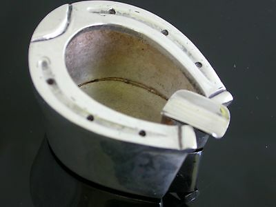 Horse Shoe  40s-50s  Weil Studio Designer Mexican Sterling Silver Ashtray .0504