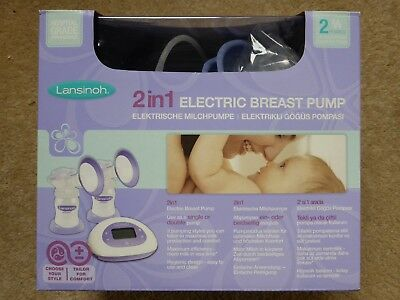Lansinoh 2 In 1 Electric Breast Pump.