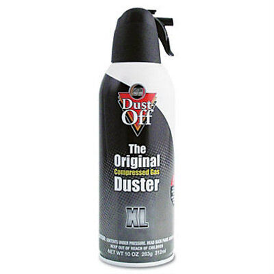 Falcon Dust-Off - XL Safety Computer Compressed Can Air Gas Duster, 10 oz