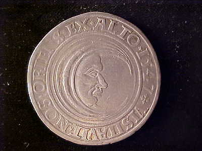 Luneburg Man In The Moon One Thaler 1547, D-9419. Vf And Popular