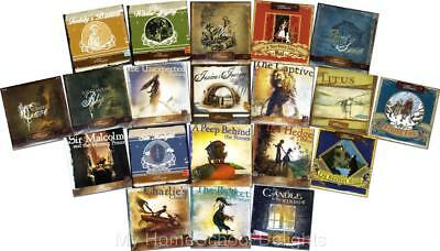 New COMPLETE 20 Lamplighter Theater Classic Stories AUDIO CD SETS Christian