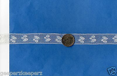 """Antique Cotton Lace Insertion 3//4/"""" Old White Dolls// Bears// Quilting// Normandy"""