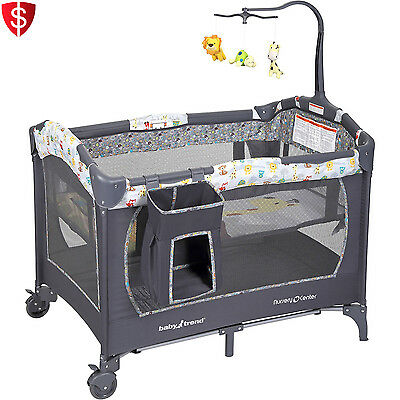 Baby Bassinet Crib Infant Bed Nursery Cradle Sleeper Newborn Playpen Beddin