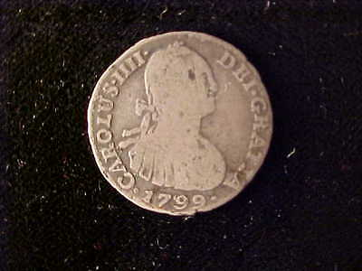 Colombia One Real 1799 Nr, Ij