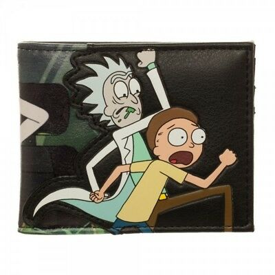 Adult Swim - Rick and Morty PU Faux Leather Bifold Wallet Rick