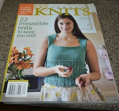 Interweave Knits Magazine Summer 2006 New 22 Projects