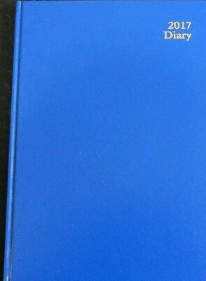 2017 DATS DIARY A4 week to opening kingsgrove clone blue hardcover new