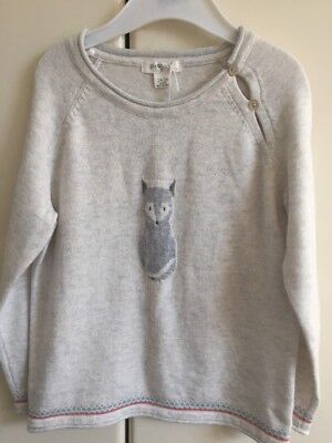 Purebaby Fox jumper - Size 3