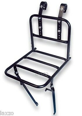 Basil Memories Front Carrier Rack Black with bar size 10 kilo bicycle Bikecycle