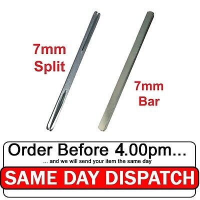7mm Steel Bar Plain Spindle for UPVC Windows and Other Door / Window 40-140mm