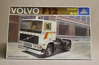Italeri Volvo F12 Truck Original Model Kit # 751 1:24Th Scale