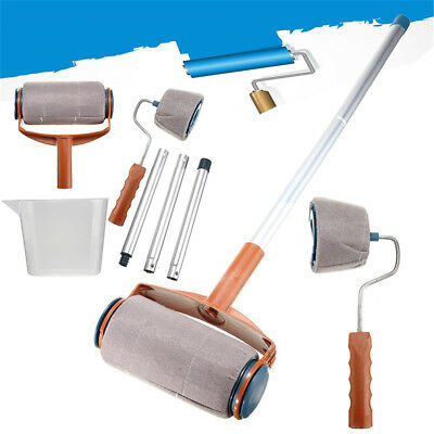 2 Set Professional Paint Roller Kit Wall Painting Runner Pindar Easy Pour Jug OZ