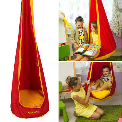 Kids Child Inflatable Hammock Pod Hanging Swing Seat Chair Tent Safety Garden