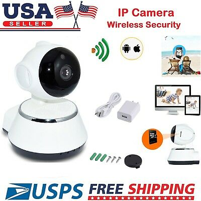 Wireless Pan Tilt Security 720P Network CCTV IP Camera Night Vision WIFI Webcam