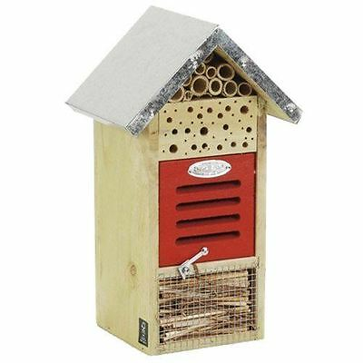 New Home Garden Patio Lawn Nature Houses Feed Esschert Design Wood Insect Hotel