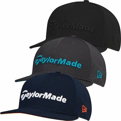 TaylorMade 2017 Performance New Era Tour 9Fifty Flat Bill Hat Snapback Golf Cap