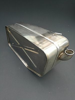 Aston Martin DB6 Volante Right hand stainless steel fuel tank