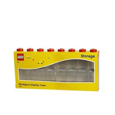 Lego Minifigure Display Case Large (Red)