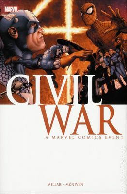 Civil War HC (2016 Marvel) 2nd Edition #1A-1ST NM