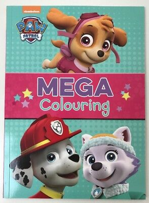 Nickelodeon Paw Patrol Mega Colouring by Parragon Books Ltd (Paperback, 2017)
