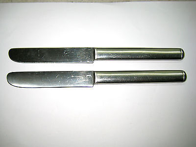 zwei Messer C. Hugo Pott  2733 _  18/8 Chrom Nickel Stahl _ Nr. 67