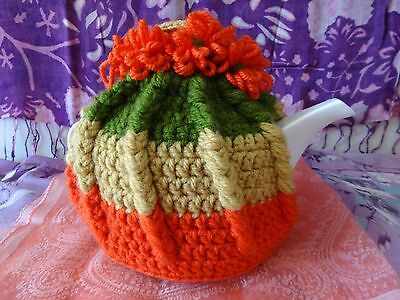 Crocheted Teapot Cozy - 4 Cup