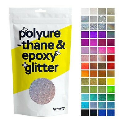 Hemway Glitter Crystal Kitchen Worktop Counter Table Top Pigment for Epoxy Resin