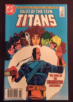Teen Titans #54 High Grade Issue .95 Cents Canadian Price Variant / Edition