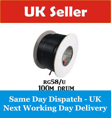Rg58/u Low Loss Coax 100M Drum