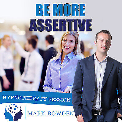 BE MORE ASSERTIVE CD (with Free MP3 Version)  Mark Bowden - confidence esteem