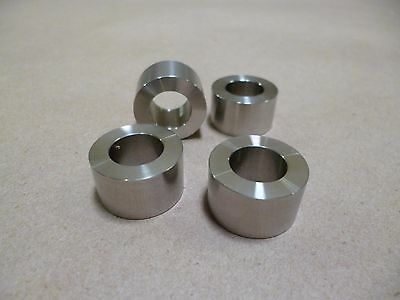 """1/2 ID X 7/8"""" OD X 1/2"""" TALL STAINLESS STEEL SPACER / STANDOFF / BUSHING 4pcs"""